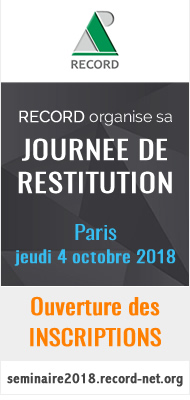 Journée de Restitution RECORD